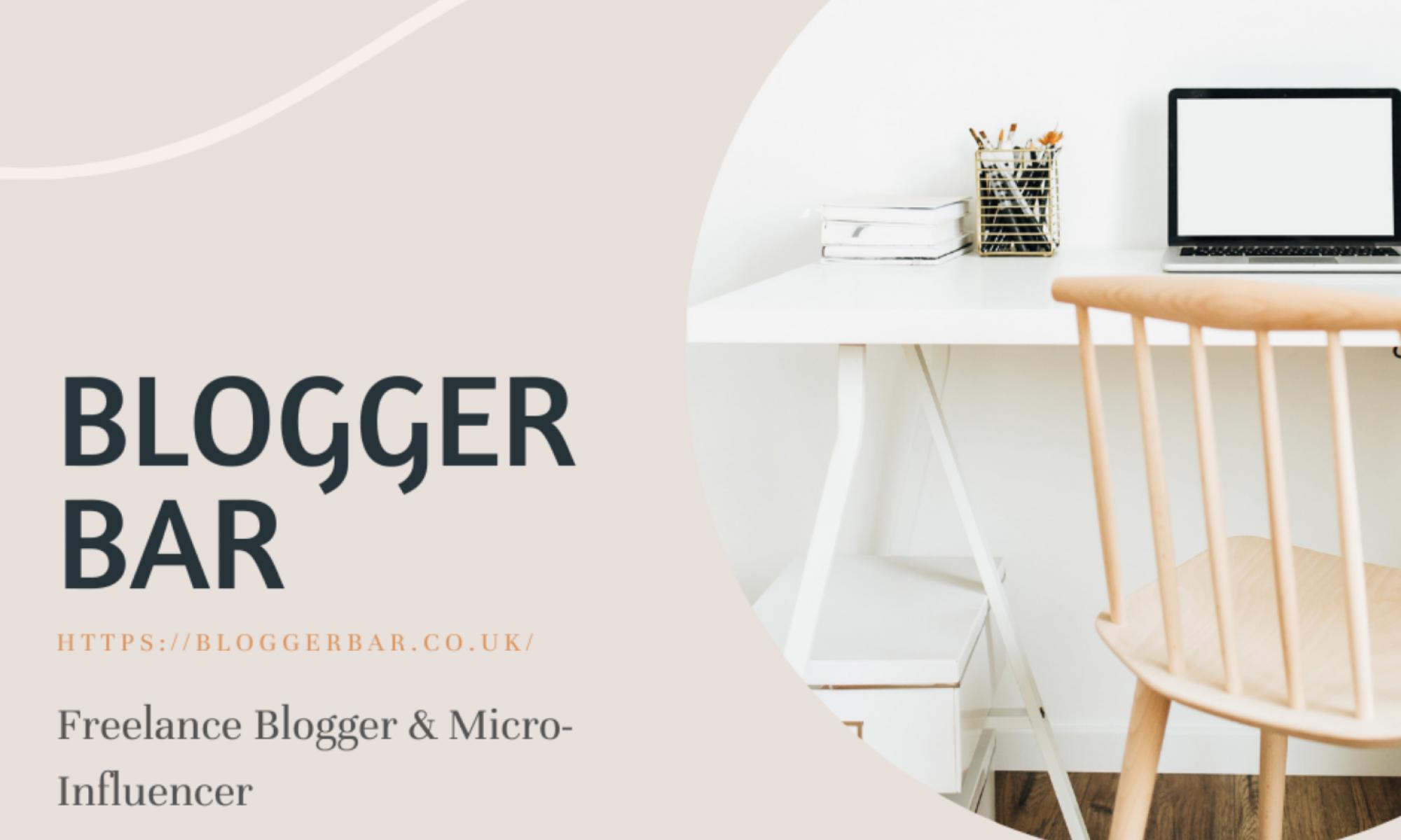 Blogger Bar